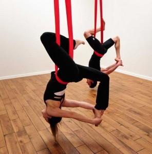 Знаете ли какви са ползите от въздушната йога?