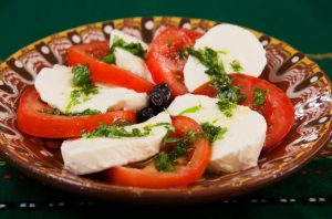 Вегетарианство - салата