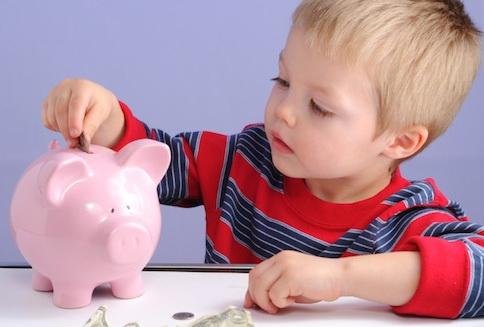 Научете детето си да спестява докато е малко